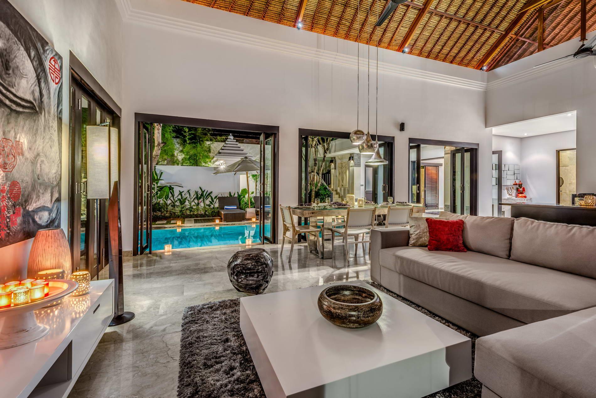 The Residence Seminyak Villa Jepun Living Room Sofas Bali Villas Bali Villas Villa Bali For Rental